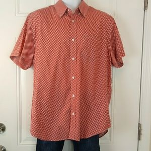 Banana Republic Milly printed  button down shirt